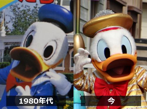 ディズニーキャラクター図鑑_ドナルドダックの歴史(今と昔)