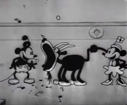 ディズニーキャラクター図鑑_ミニーマウスの歴史(蒸気船ウィリー)