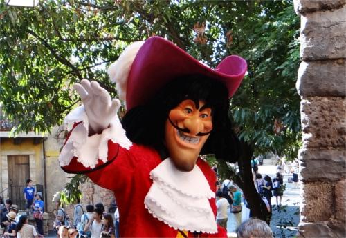 ディズニーヴィランズで一番悪い奴ランキングTOP3_「ピーターパン」のフック船長