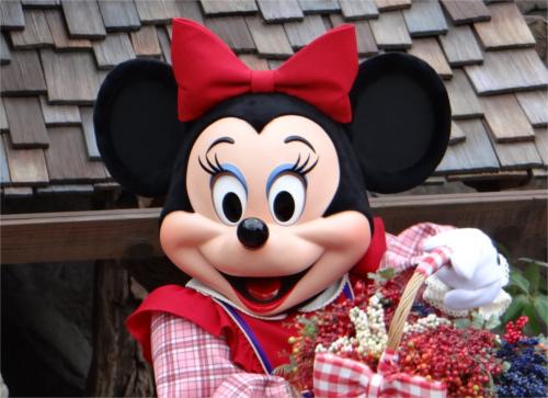 ミニーマウスのかわいい姪っ子「ミリー」と「メロディ」の見分け方