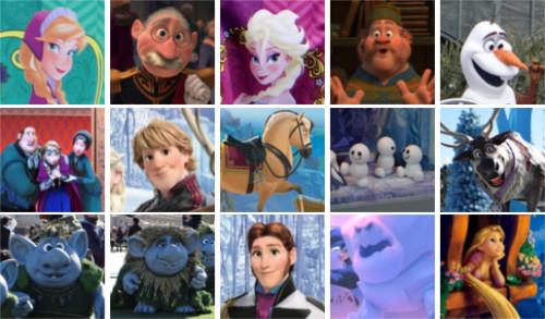 「アナと雪の女王」のキャラクター・登場人物一覧
