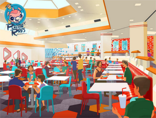 宇宙で人気のレストラン「プラズマ・レイズ・ダイナー」が日本初上陸_1