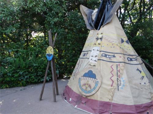 トムソーヤ島のテント