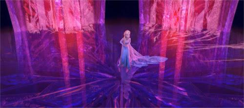 「アナと雪の女王」で氷の城の色はエルサの感情を表していた!_赤