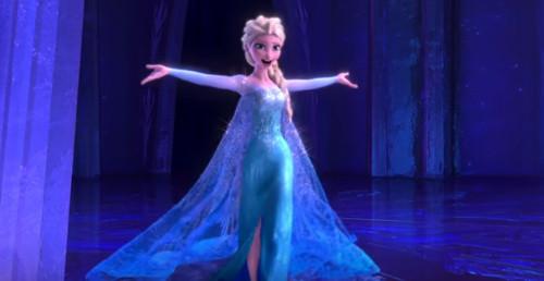 「アナと雪の女王」で氷の城の色はエルサの感情を表していた!