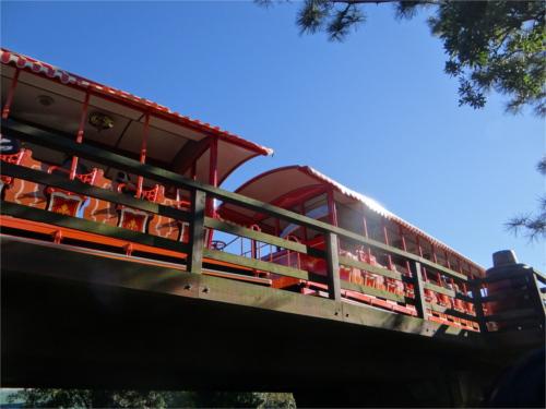 ウエスタンリバー鉄道は本物の蒸気機関車