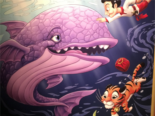 シンドバッド・ストーリーブック・ヴォヤッジのクジラに隠れミッキー