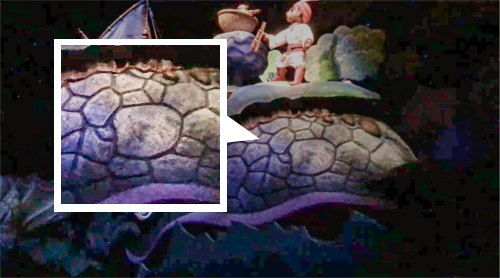 シンドバッド・ストーリーブック・ヴォヤッジのクジラに隠れミッキー_3