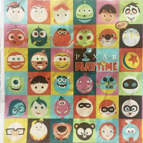 「ピクサープレイタイム」で買い物袋に描かれたキャラクターの名前まとめ