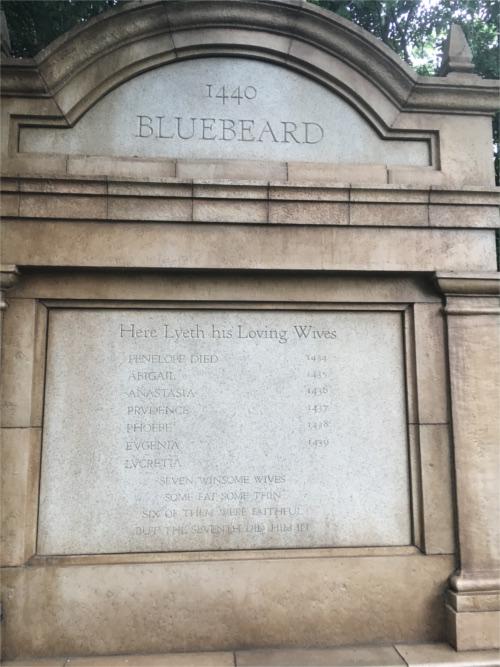 ホーンテッドマンションで青ヒゲの墓標に隠されたトリビア_2