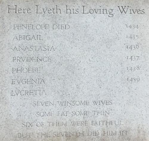 ホーンテッドマンションで青ヒゲの墓標に隠されたトリビア_4