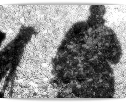 ふたつの影