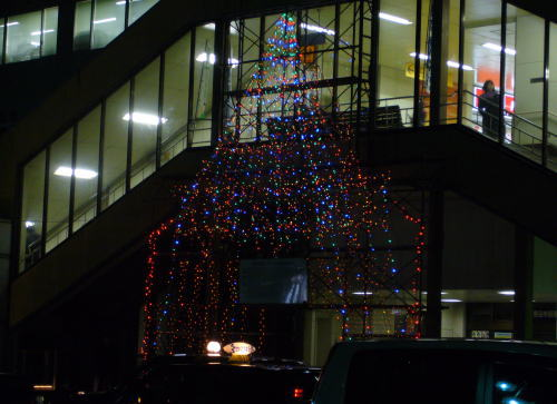 籠原駅北口クリスマスイルミネーション