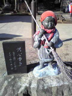 文殊寺の小僧さん
