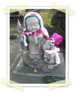 文殊寺のお地蔵さん