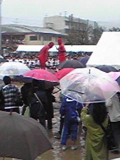 今年も雨の体育祭