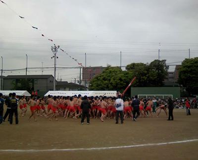 2010年雨でない体育祭
