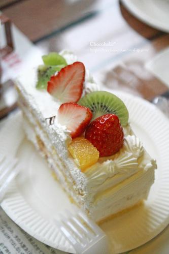 ケーキおいしかった〜