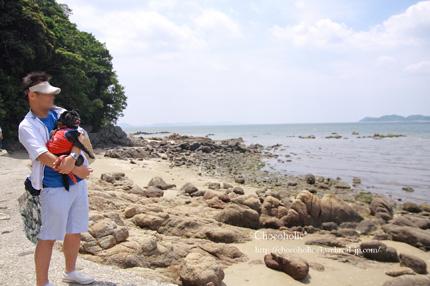 のんびり海を眺めて