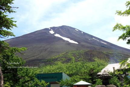 5合目からの山頂