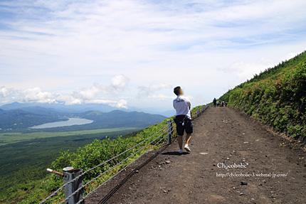 気持ちの良い登山道