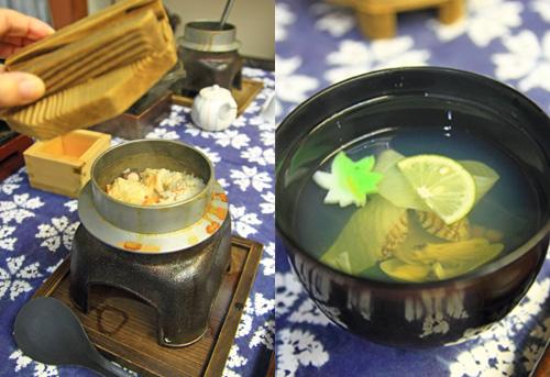 釜飯と吸い椀