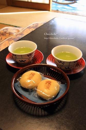 松本製菓さんの温泉まんじゅう