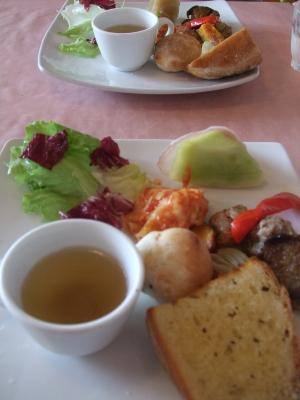前菜・スープ・パン