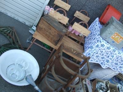 鉄脚リメイク椅子
