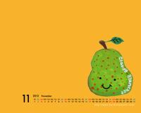 壁紙カレンダー イラストカレンダー パソコン壁紙