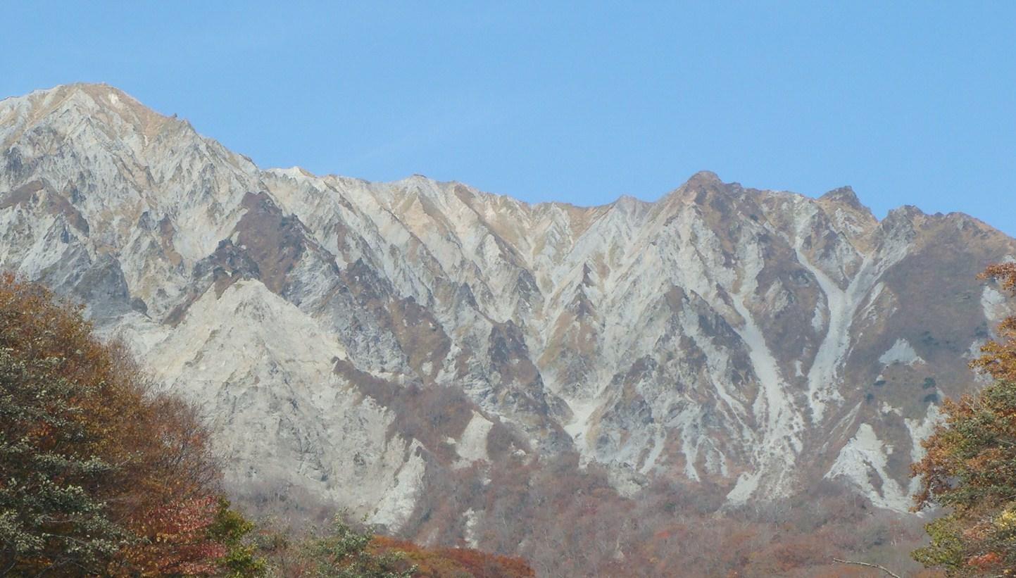 二の沢からの大山