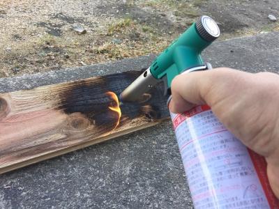 焼杉板 DIY