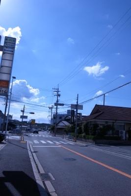 ビル前の通り