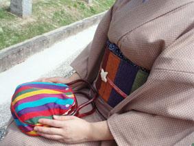 京都での着物コーディネイト♪