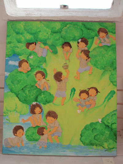 今回の新作『ブロッコリーの木』