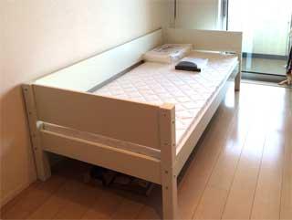 Manis-hのミドルベッド