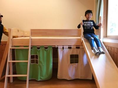 木製のロフトベッド.jpg