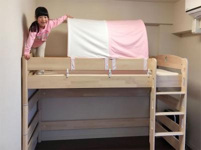 ロフトベッドとテント.jpg
