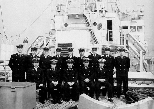 巡視船こじま初代クルー