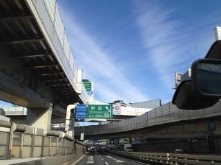 20120103新宿へ向かう空9