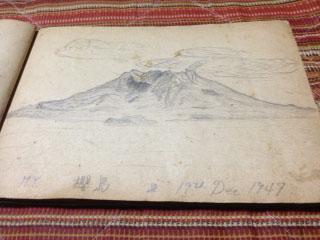 20120103父の航海スケッチ17桜島