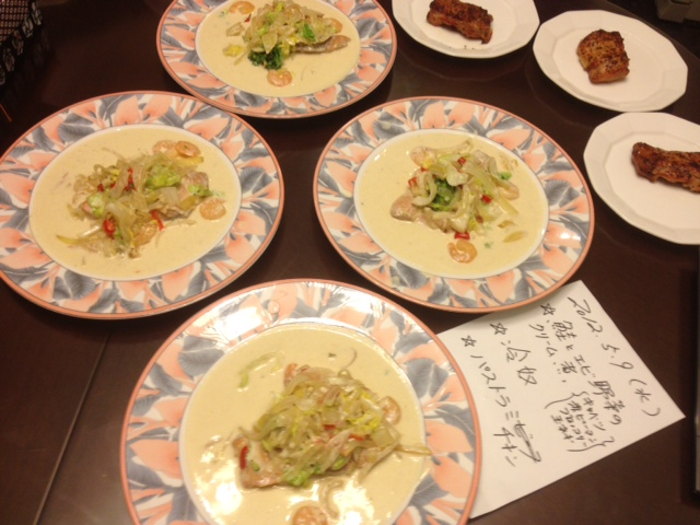 20120509晩御飯中