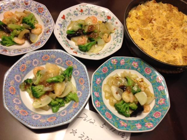 20120511晩御飯中