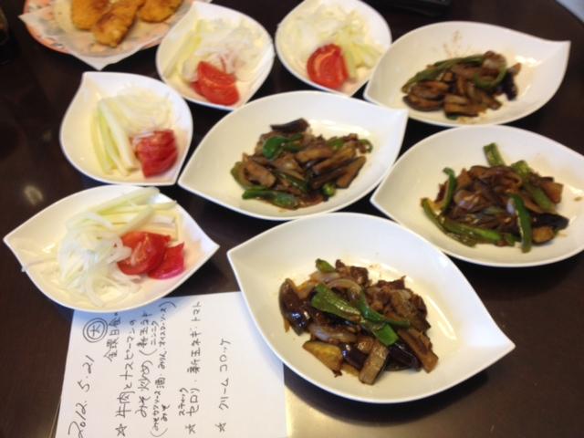 20120521晩御飯中