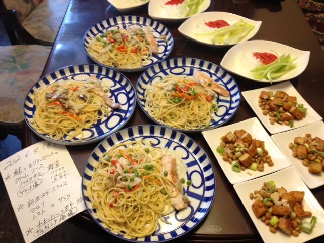 20120604晩御飯中