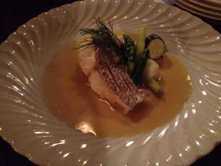 20120613DIMPLE鯛のクリームソース
