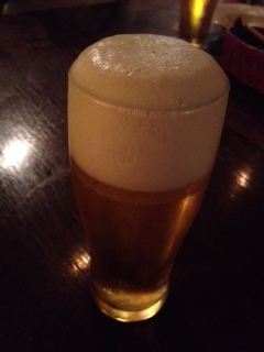 20120710DIMPLEこんもり生ビール