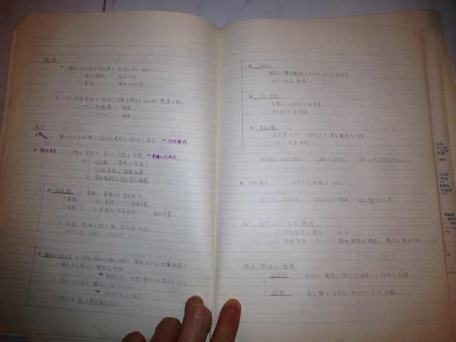 20120812高校生時代のノート2