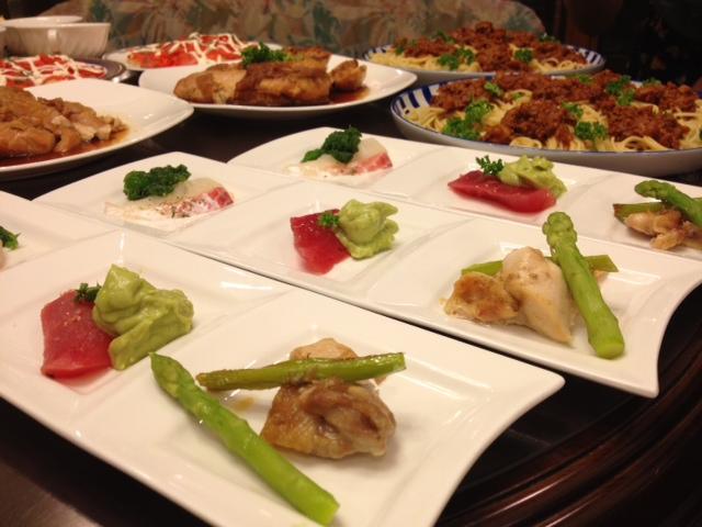 20120814送別会晩餐三品盛り02