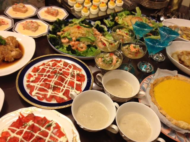 20120814送別会晩餐部分メニュー01